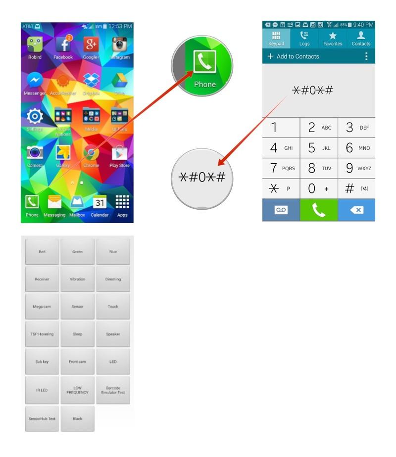 How to open the hidden service menu on samsung galaxy s5 techwonda